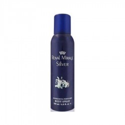 Royal Mirage Silver 200 ml for men deodorant