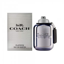 Coach New York Platinum 100 ml EDP for men perfume