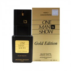 Jacques Bogart One Man Show Gold Edition 100 ml EDT for men perfume