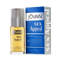 Jovan Sex Appeal 88 ml for men - Outer Box Damaged perfume