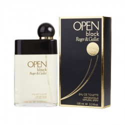 Roger and Gallet Open Black 100 ml EDT for men - Outer Box Damaged