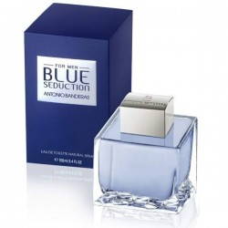Antonio Banderas Blue Seduction 200 ml Edt for men perfume (Outer Box Damaged)