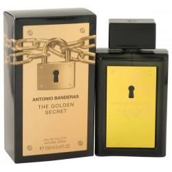 Antonio Banderas The Golden Secret 100 ml Edt for men - Outer Box Damaged