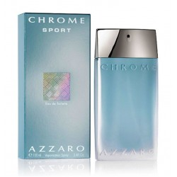 Azzaro Chrome sport 100 ml for men  perfume