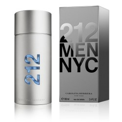 Carolina Herrera 212 NYC 100 ml for men perfume