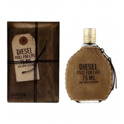 Diesel Fuel For Life 75 ml for men - Outer Box Damaged