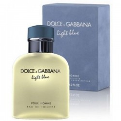 Dolce & Gabbana Light Blue 125 ml for men  perfume