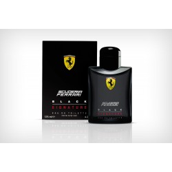 Ferrari Scuderia Black Signature 125 ml for men