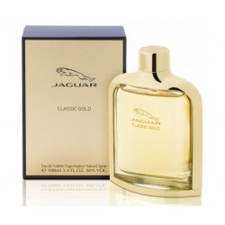 Jaguar Classic Gold 100 ml for men - Outer Box Damaged