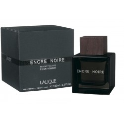 Lalique Encre Noire 100 ml for men - Outer Box Damaged