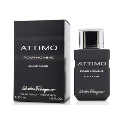 Salvatore Ferragamo Attimo Black Musk Pour Homme 100 ml for men