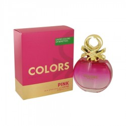 United Colors of Benetton Colors Pink 80 ml for women