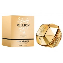 Paco Rabanne Lady Million Absolutely Gold 80 ml for women (EDP)